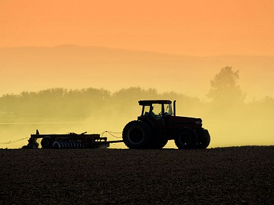 Tractor_at_Dusk